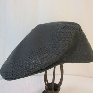 Kangol Tropic Ventair Cap Hat Mens L Blue Gray Hat